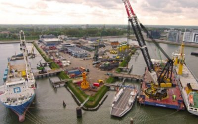 World's first pool for dock vessels