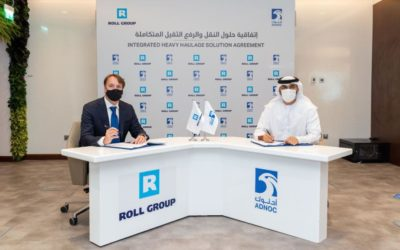 Adnoc partners with Roll Group for haulage solutions
